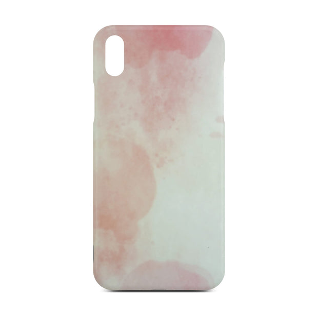 Matt Pink Marble Case For iPhone X