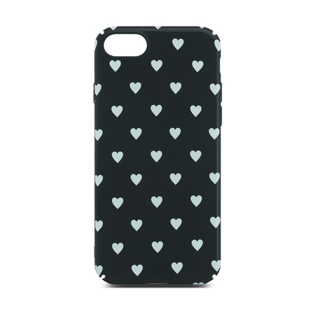 Black Heart Case for iPhone 8