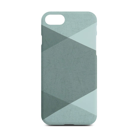 Grey Abstract Slim Case For iPhone 8