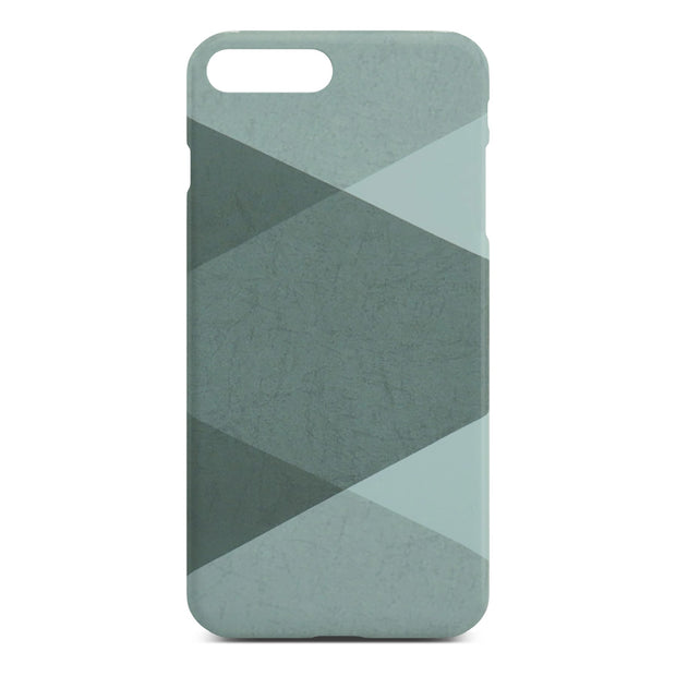 Grey Abstract Slim Case For iPhone 8 Plus