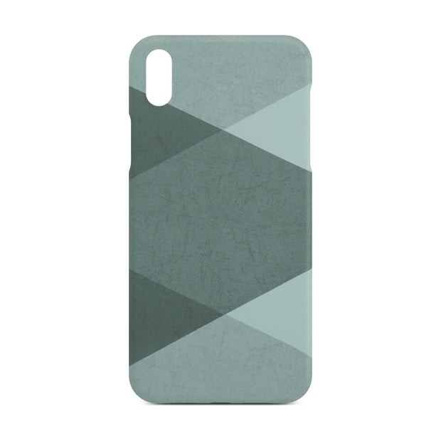 Grey Abstract Slim Case For iPhone X