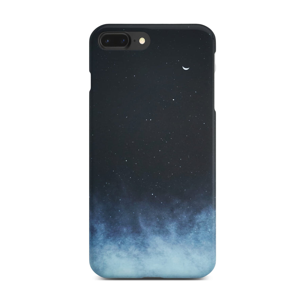 Galaxy Slim Case On Space Gray iPhone 8 Plus