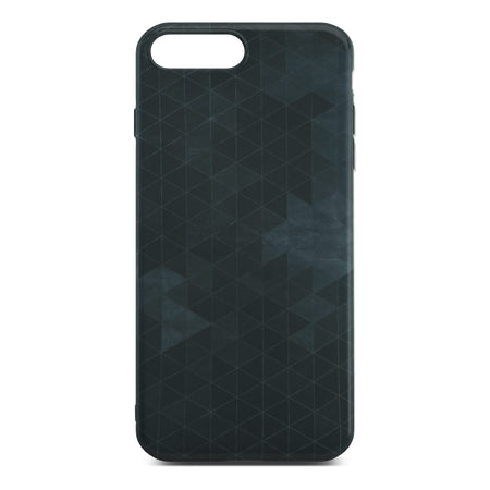 Black Polygon Slim Case For iPhone 8 Plus
