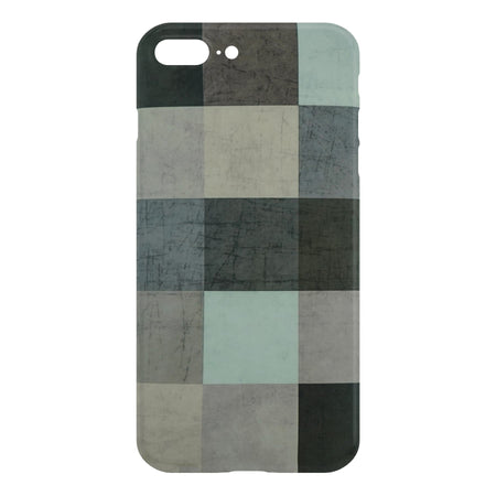 Abstract Color Block Slim Case For iPhone 8 Plus
