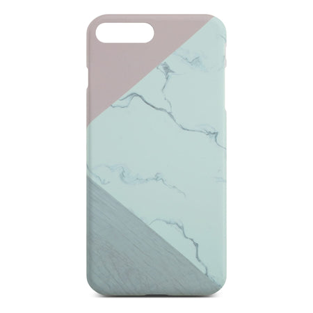 Abstract Pink Marble Slim Case for iPhone 8 Plus