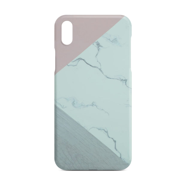 Abstract Pink Marble Slim Case For iPhone X