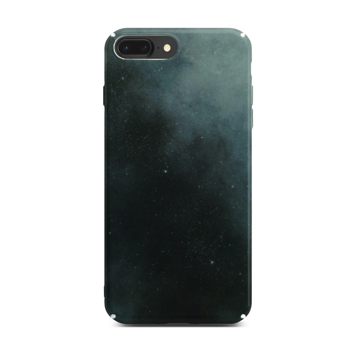 Dark Night Slim Case On Space Gray iPhone 8 Plus