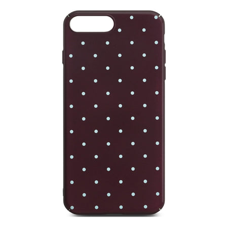 Red Dotty Slim Case For iPhone 8 Plus