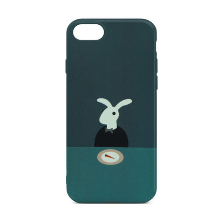 Cute Rabbit Slim Case For iPhone 8
