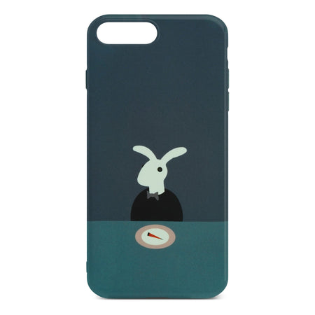 Cute Rabbit Slim Case For iPhone 8 Plus