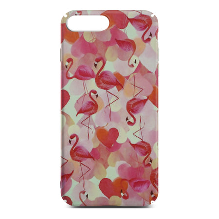 Red Flamingo Slim Case For iPhone 8 Plus