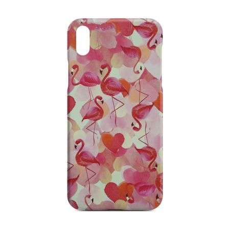 Red Flamingo Slim Case For iPhone X