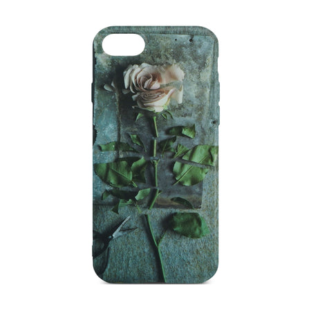 Pink Rose Flower Case for iPhone 8 / 7