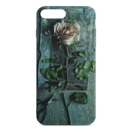 Pink Rose Flower Case for iPhone 8 Plus / 7 Plus