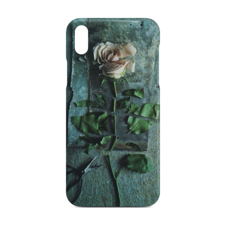 Pink Rose Flower Case for iPhone X