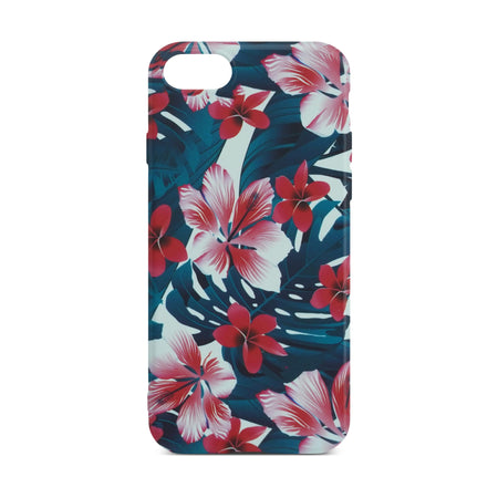 Colorful Flower Slim Case For iPhone 8