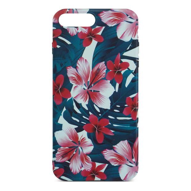 Colorful Flower Slim Case For iPhone 8 Plus