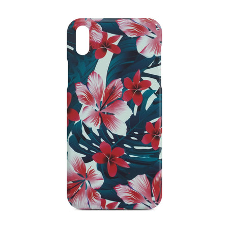 Colorful Flower Slim Case For iPhone X