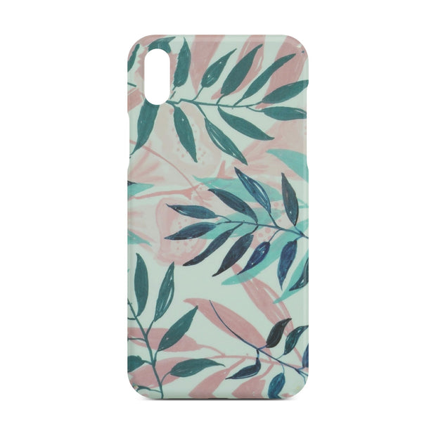 Leaf Flower Case for iPhone X