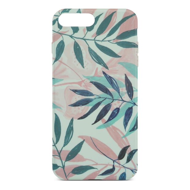 Leaf Flower Slim Case For iPhone 8 Plus