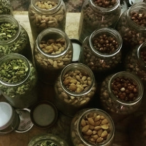 Sprouting Nuts is essential to get rid of phytic acid and release the nutrients it contains