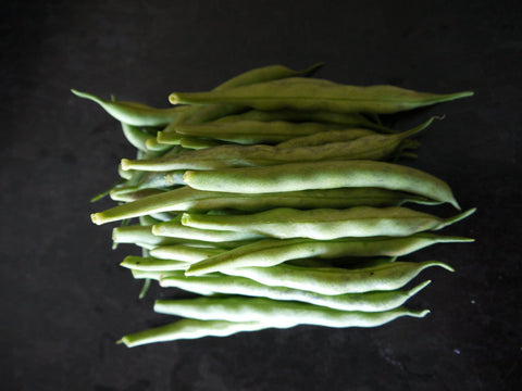 Organic green beans from my urban farm