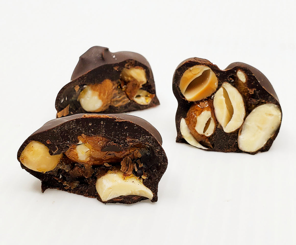 Raw Chocolate Sprouted Nut Clusters