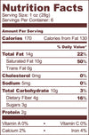 Nuts About Chocolate Nourishing Delicious Spread with  Raw cacao, Coconut, sprouted Almonds, sprouted Brazil nuts nutrition facts.
