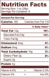 Nuts About Chocolate Nourishing Delicious Spread composed or pure Raw cacao, sprouted Walnuts, sprouted Cashews, vanilla beans and a date Nutrition facts