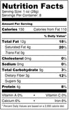 Sprouted Vegan, Paleo Raw Trail mix by Hnina include sprouted nuts, sprouted seeds, raw coconut chips and dates nutrition facts