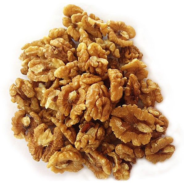Raw sprouted walnuts