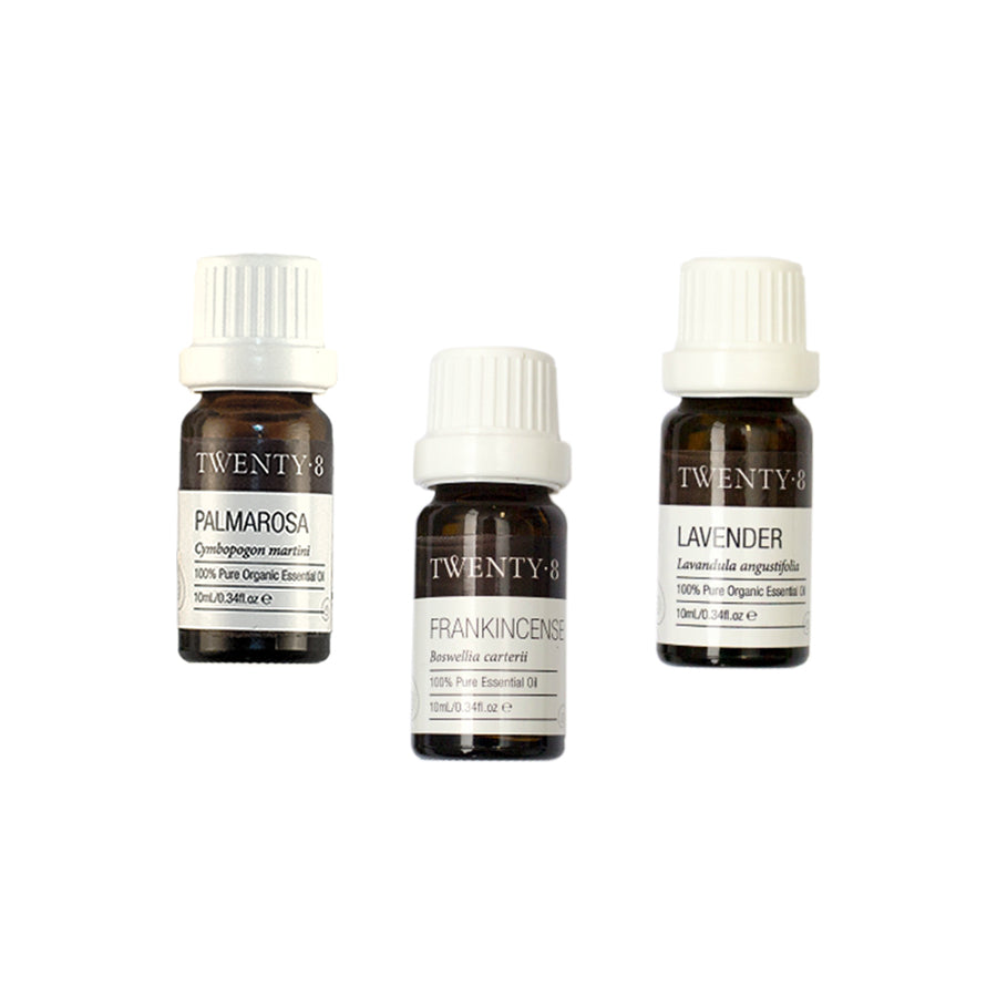 Certified Organic Anti-Aging & Beauty Essential Oils (3 Pack)