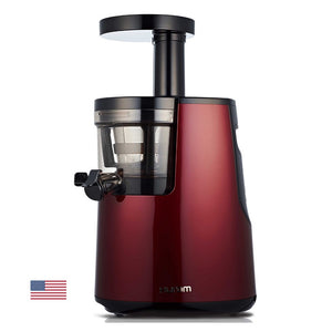 Hurom Premium Vertical Cold Press Juicer - HH Elite (Wine)