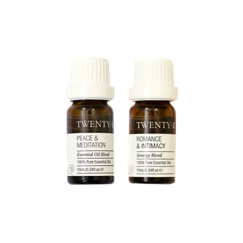 Certified Organic Self-Care Essential Oils (2 Pack)