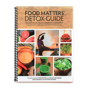 the food matters detox guide print edition food matters rh store foodmatters com 3-Day Detox Sugar Detox Guide