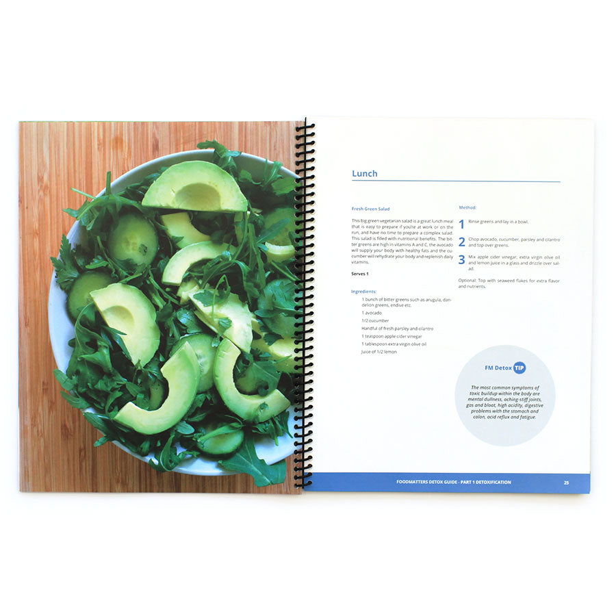 the food matters detox guide print edition food matters rh store foodmatters com Food Matters Detox Guide Raw Food Detox
