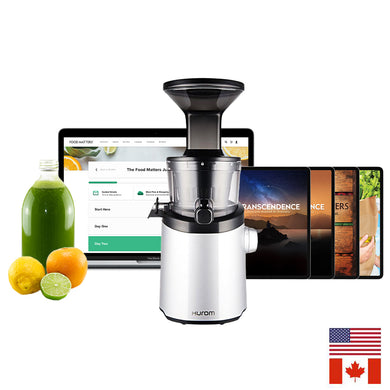 H101 Hurom Easy Clean Slow Juicer + Free Program & Bonuses