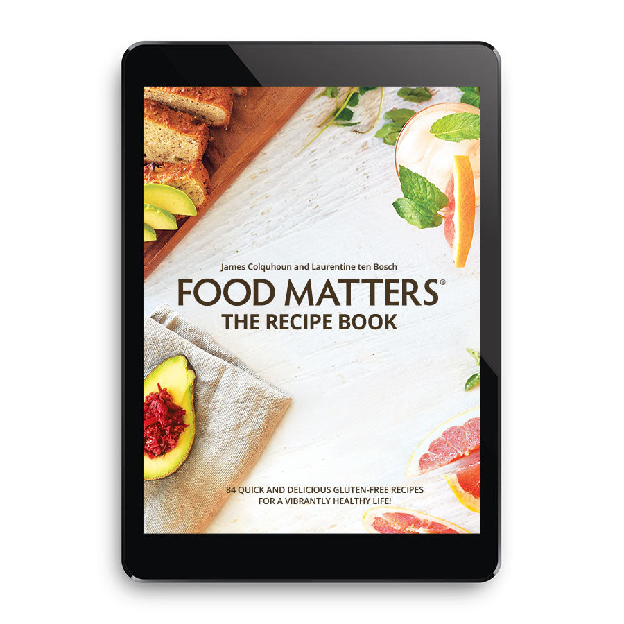 Food Matters The Recipe Book Ebook Edition