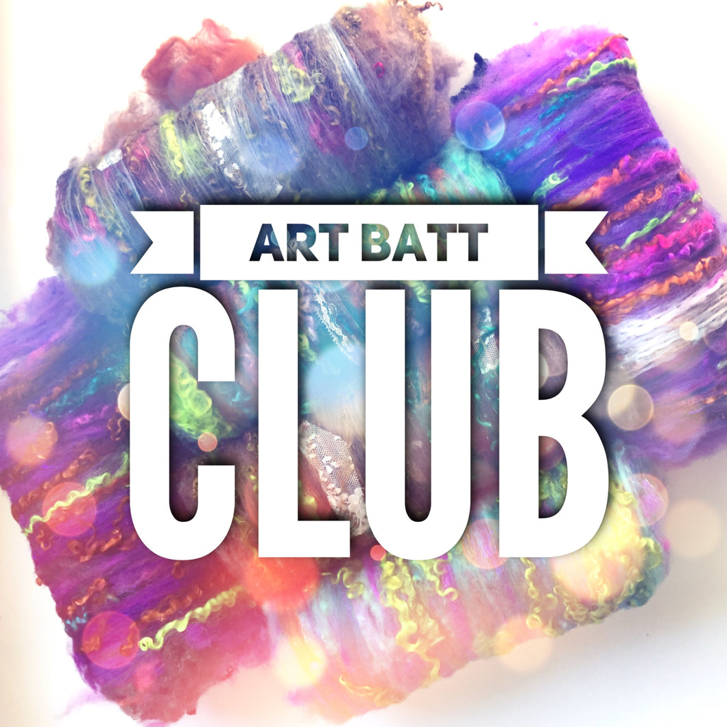 Farm Fluff Luxury Art Batt Club