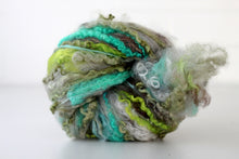 Farm Fluff // Art Batt for spinning & felting // Glacial Flour