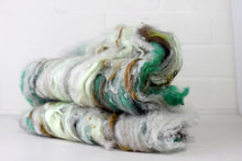 Farm Fluff // Art Batt for spinning & felting // Sandstone