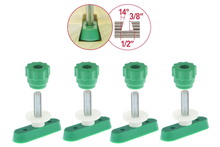 "MATCHFIT 1"" Dovetail Track Hardware (4-Pack)"