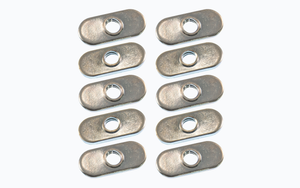 1/4-20 Oval Nut (10-Pack)