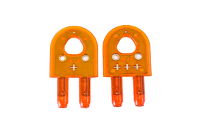MJ SPLITTER Replacement SteelPro Thin Kerf Splitters (Orange)