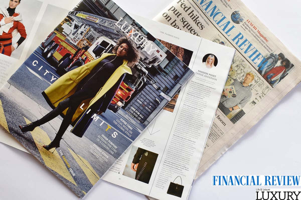 Australian Financial Review Luxury Magazine Balincourt