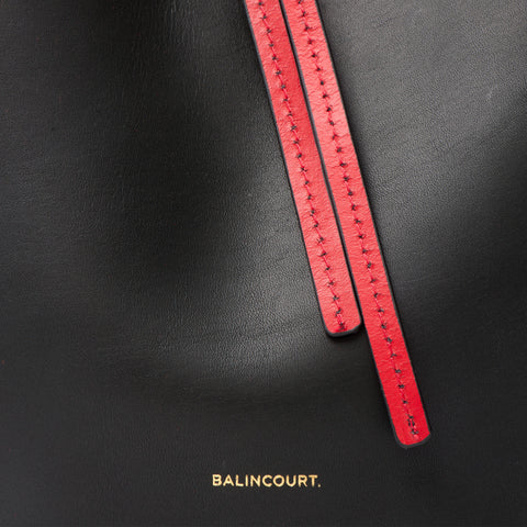 Balincourt Ladies Leather Bucket Bag Byron Bay