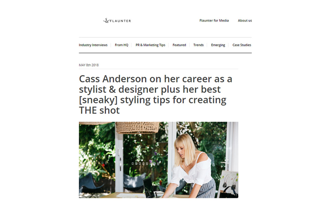 Flaunter Media Cass Anderson Balincourt leather bags