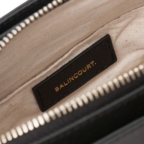 Balincourt Leather Bags Linen Lining