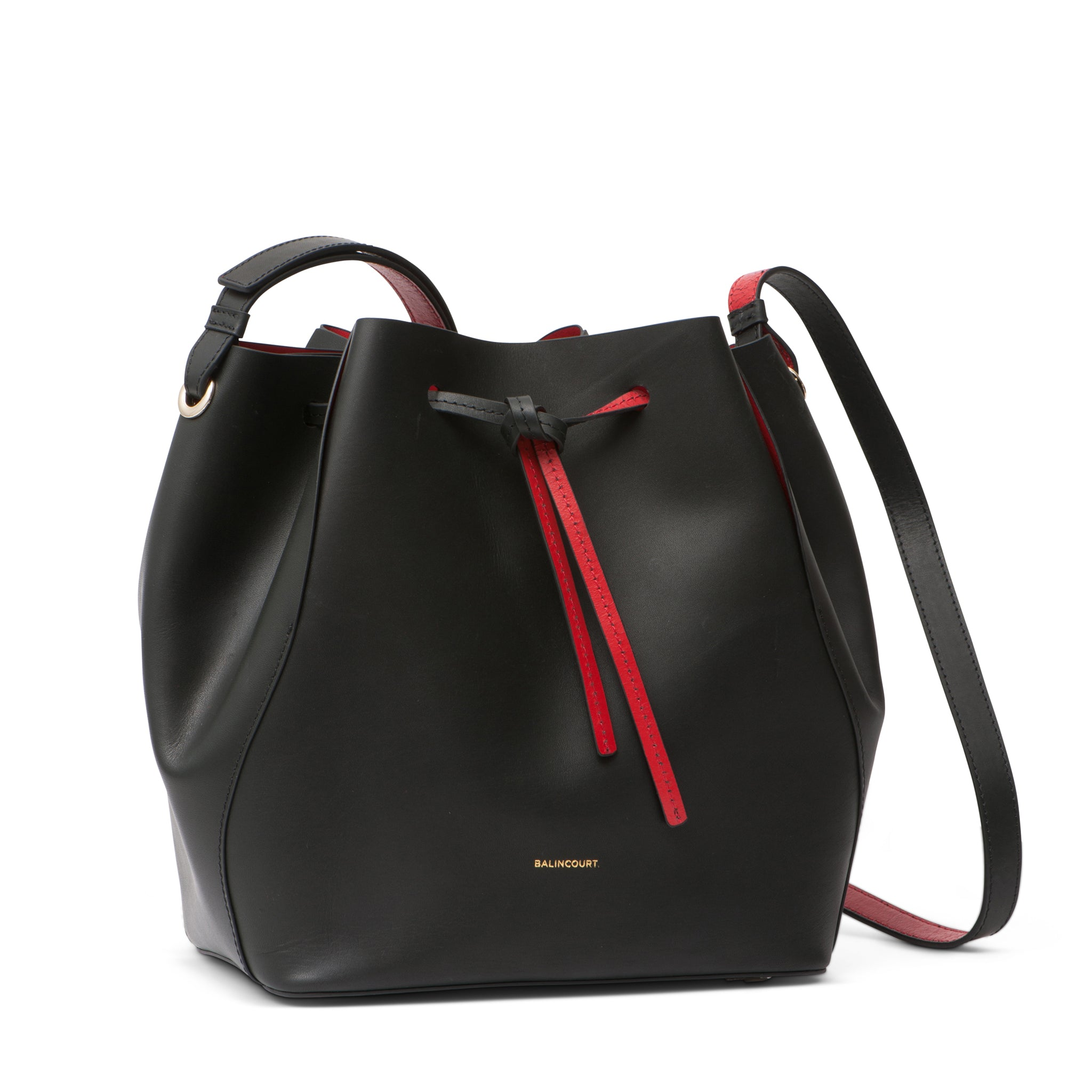 Balincourt Ladies Leather Bucket Bag
