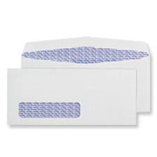 #10 Heat Resistant Window Gummed Security Envelopes, 500/Pack